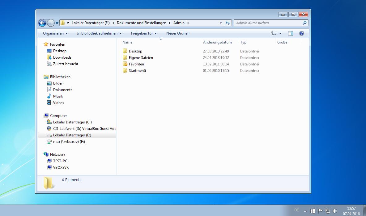 Windows Freigaben – Sichtbarkeit im Netz