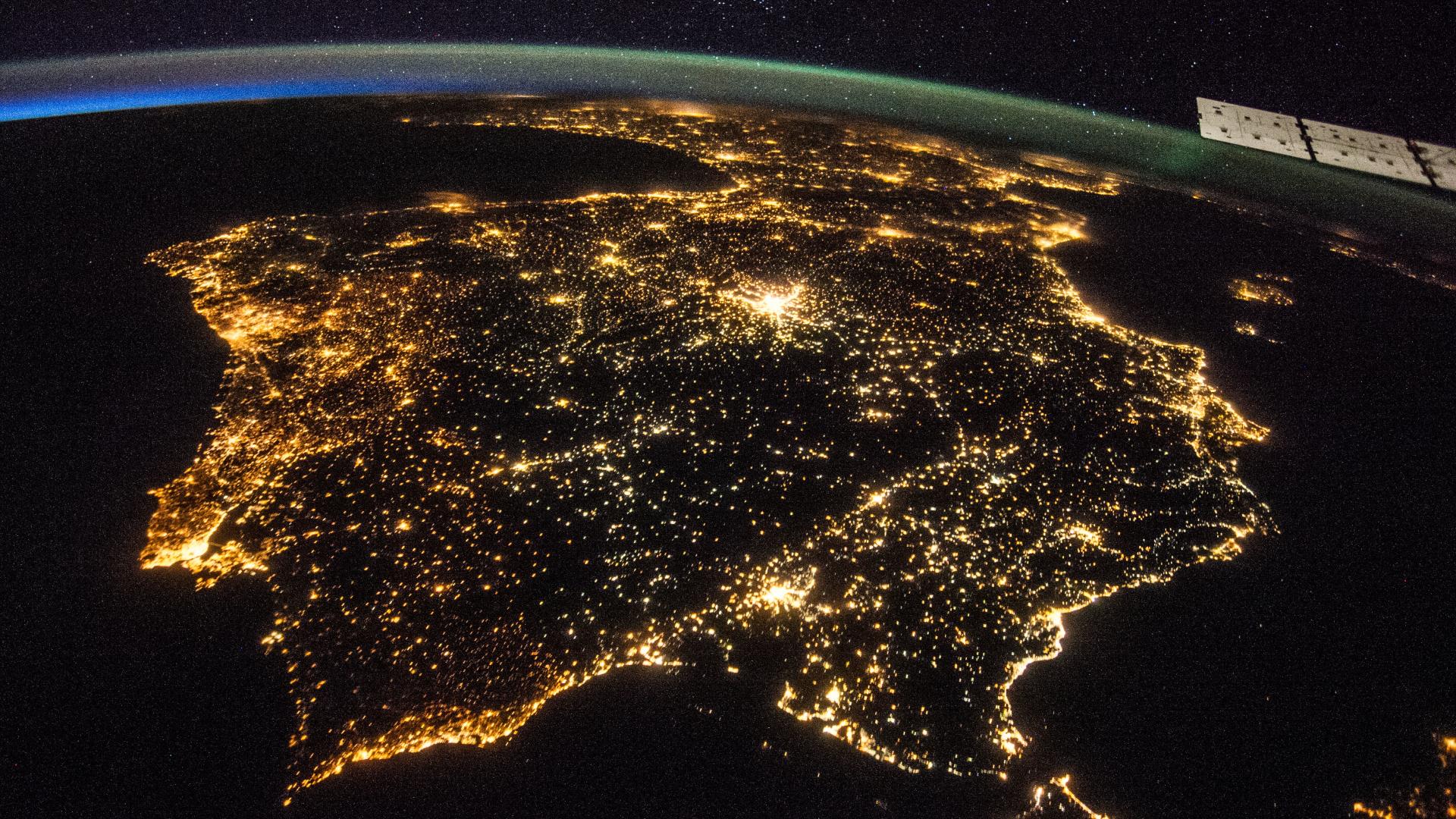 Spanien nachts