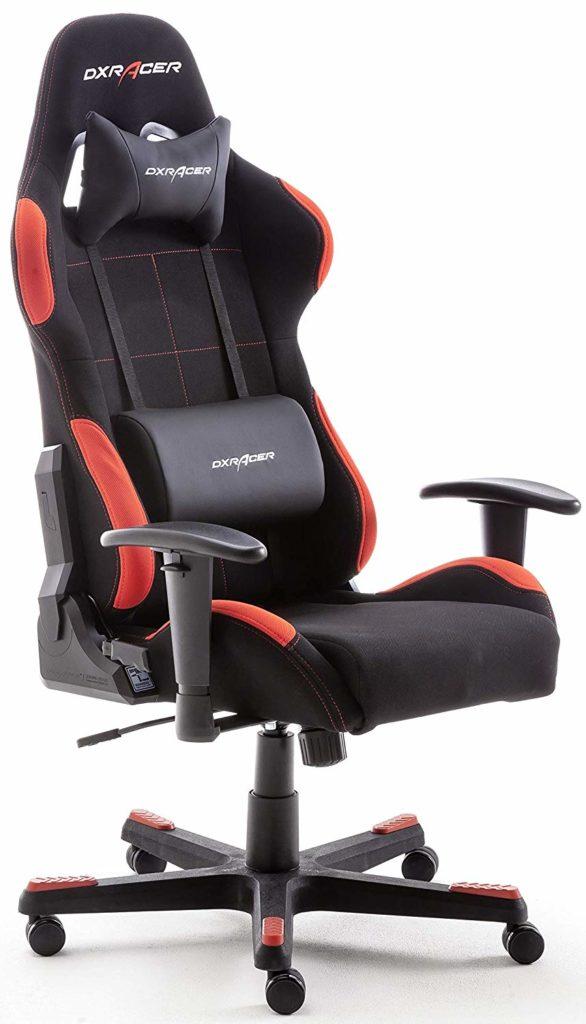 Gaming Stuhl, macht sich auch gut im Homeoffice
