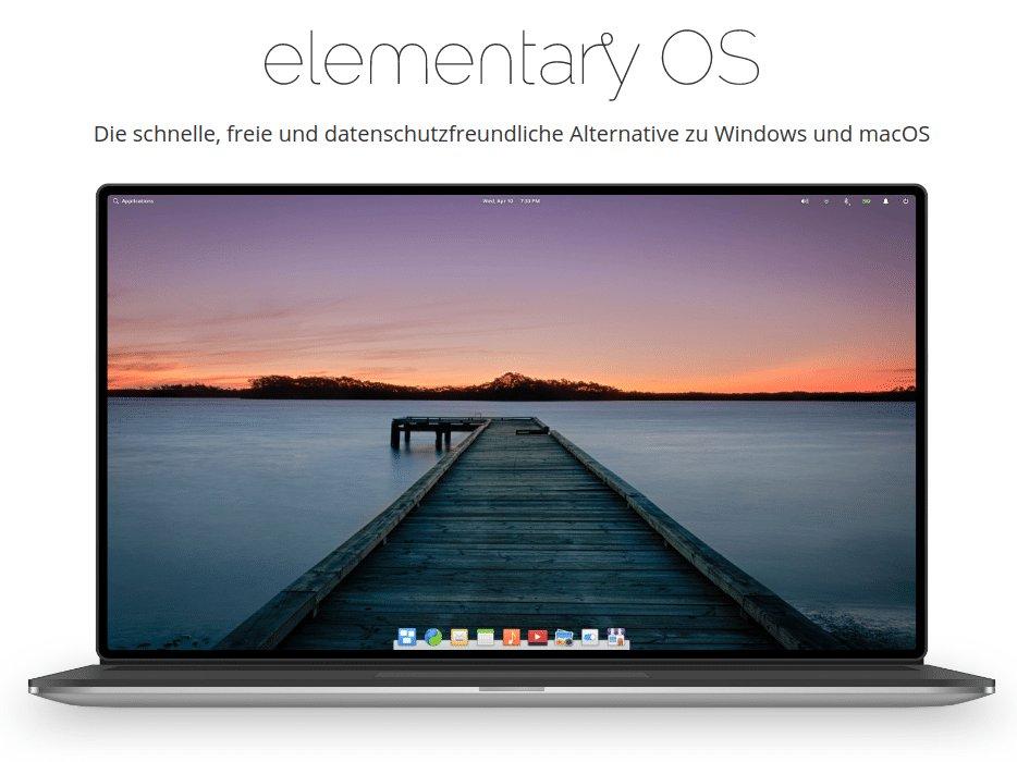 Mein Arbeitsplatz Betriebssystem: elementary OS