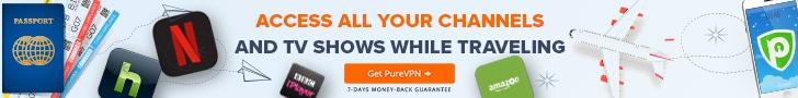 PureVPN für Reisende